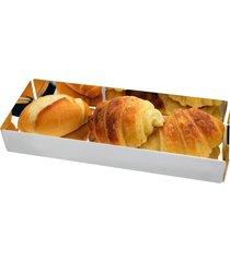 porta pão prata - riva