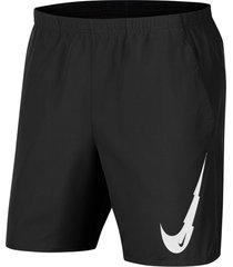 pantaloneta nike run short 7in para hombre - negro