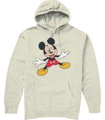 hybrid men's classic mickey hoodie