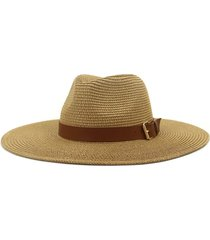 british style new spring summer large brimmed straw hat sir outdoor travel tourism hat