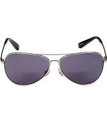 the tribe 59mm aviator sunglasses & reading glasses