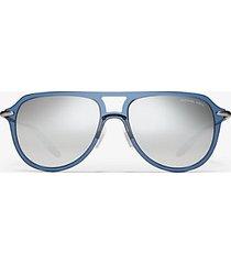 mk occhiali da sole lorimer - blu (blu) - michael kors