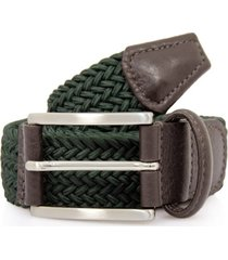 anderson's belts elastic woven belt | green | 2949v1