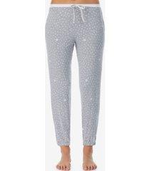 dkny sleepwear printed pajama pants