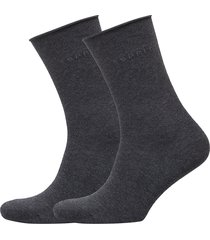 basic p. so 2p lingerie socks regular socks grå esprit socks