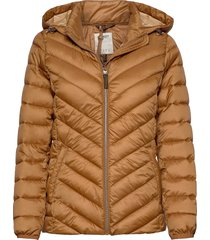 jackets outdoor woven fodrad jacka brun esprit casual