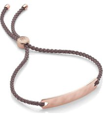 rose gold havana mini friendship bracelet