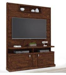 estante home theater para tv até 50 pol. alabama noce - lukaliam móveis