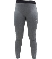 pantalon fila melange mujer