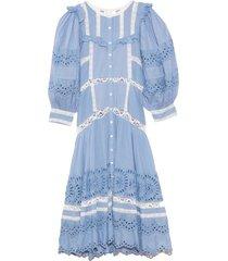 titania dress in cobalt