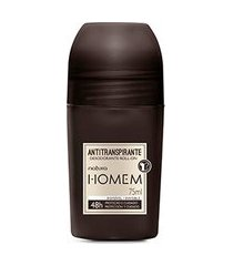 desodorante roll on natura homem - 75 ml