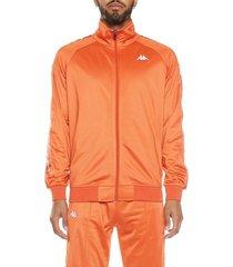 chaqueta para hombre 222 banda dullo kappa naranja kappa