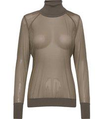 tony pullover t-shirts & tops long-sleeved svart wolford