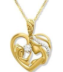 collar amor de madre elegante oro arany joyas