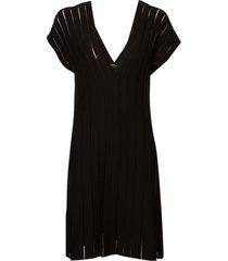 vestido le lis blanc maria curto tricot preto feminino (preto, gg)