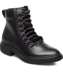 crepetray hybrid w shoes boots ankle boots ankle boot - flat svart ecco