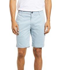 men's ag wanderer modern slim fit shorts, size 33 - blue