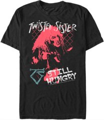 fifth sun twisted sister men's still hungry portrait short sleeve t-shirt