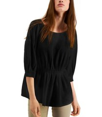 alfani cinched front top, created for macy's