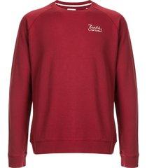 kent & curwen logo stitched sweatshirt - red