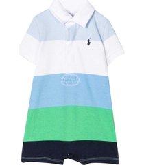 ralph lauren striped jumpsuit