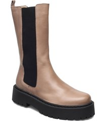 biadeb long boot shoes chelsea boots brun bianco