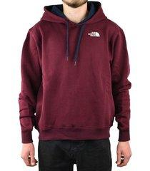 sweater the north face drew peak hoodie t92tubhbm