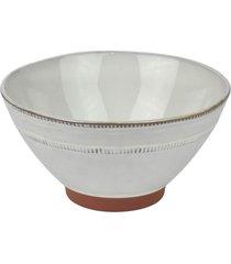 bowl cerã¢mica tigela branca kasa ideia - multicolorido - dafiti