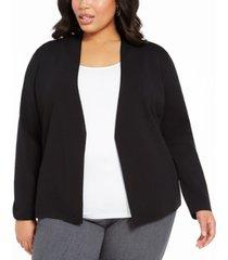 alfani plus size full needle sweater coat, created for macy's