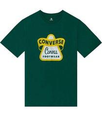 t-shirt met korte mouwen en vintage logo