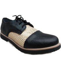 zapato negro omm atenas