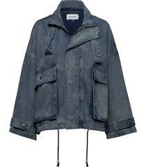 dhtoledo denim jacket jeansjack denimjack blauw denim hunter