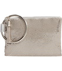 whiting & davis bangle wristlet -