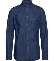 lmc standard shirt lmc frida b overhemd casual blauw levi's made & crafted