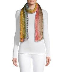 textured chevron scarf