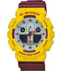 reloj g-shock modelo g-shock vinotinto hombre