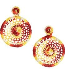 dreamy crochet earrings