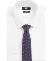 boss men's travel line silk tie