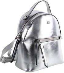 mochila plateada xl  yosy