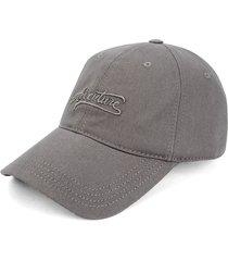 gorra gris colore