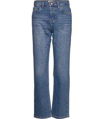 pzliva jeans boyfriend jeans blå pulz jeans