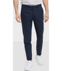 premium by jack & jones jprblarocco sid trouser byxor mörk blå