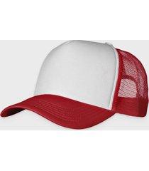 czapka (bez nadruku, gładka) - czerwona