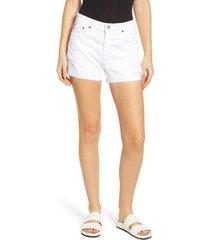 women's ag hailey boyfriend cutoff denim shorts