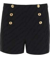 givenchy givenchy chaîne shorts with 4g buttons