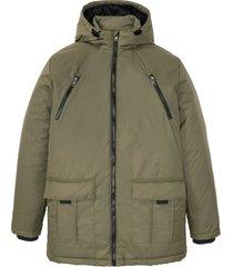 giacca invernale con cappuccio (verde) - bpc bonprix collection