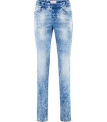jeggings con elastico (blu) - john baner jeanswear