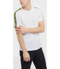 jack & jones jcogunner tee ss crew neck t-shirts & linnen vit