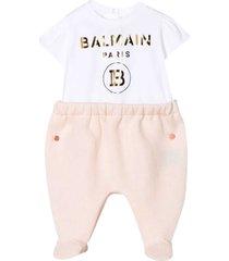 balmain print pajamas