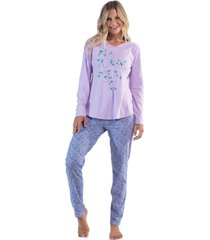 pijama mora conjunto remera pantalón jane art. z405